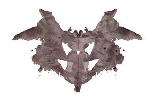 1e planche de Rorschach